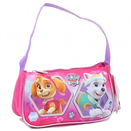 Nick r Paw Patrol Everest And Skye Zippered Pink Handbag Houston Kids Fashion Clothing