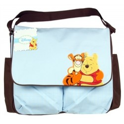 Disney Winnie The Pooh & Tigger Too Blue Large Diaper Bag Houston Kids Fashion Clothing Store The Woodlands Texas
