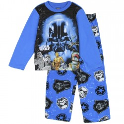 Star Wars Darth Vader Blue Boys 2 Piece Pajama Set