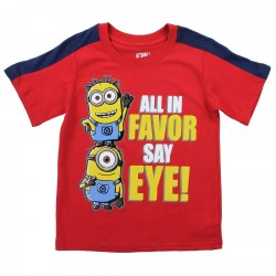 Despicable Me All In Favor Say Eye Red Toddler Boys Shirt