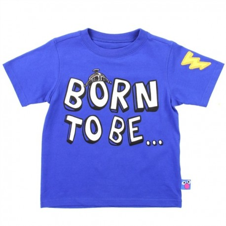 Sesame Street Born To Be Super Grover Toddler Boys Shirt Houston Kids Fashion Clothing Store