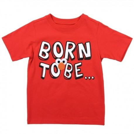 Sesame Street Elmo Born To Be Cute Toddler Boys Shirt Houston Kids Fashion Clothing Store