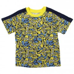 Despicable Me Minions All Over Print Toddler Boys Shirt