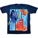 Disney Finding Dory Navy Blue Shirt With Dory Nemo And Hank Houston Kids Fashion Clothing Store