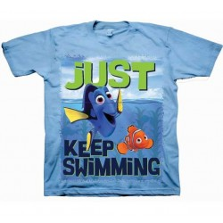 Disney Pixar Finding Dory Just Keep Swimming Dory And Nemo Toddler Shirt