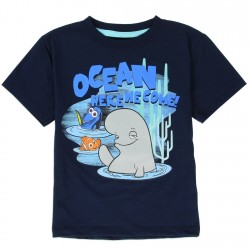 Disney Finding Dory Ocean Here We Come Dory Nemo And Bailey Navy Blue Shirt Houston Kids Fashion Clothing