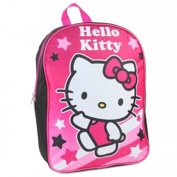 "Hello Kitty 15"" Pink Girls Backpack"