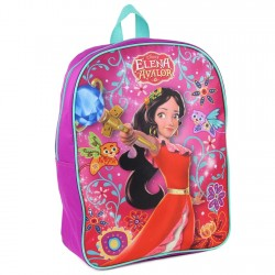 "Disney Princess Elena Of Avalor 15"" Girls School Backpack Houston Kids Fashion Clothing Store"