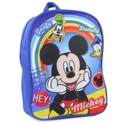 "Disney Mickey Mouse Donald Duck and Goofy 15"" Backpack Houston Kids Fashion Clothing Store"