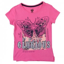 Love At First Sight Glorious Butterfly Shirt And Matching Scarf Houston Kids Fashion Clothing Store
