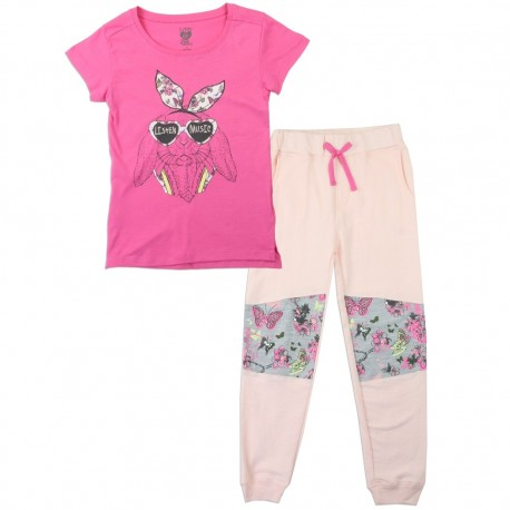 Love At First Sight Listen To Music Infant Pink Shirt And Matching Leggingss Houston Kids Fashion Clothing Store