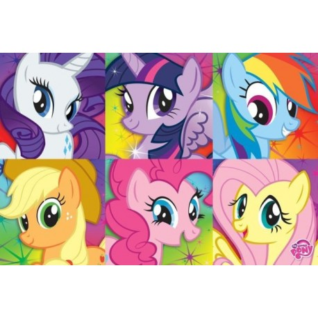 My Little Pony Zoom Character Wall Poster Kids Room Decor Houston Kids Fashion Clothing