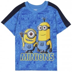 Despicable Me Minions Blue Toddler Boys Shirt Houtson Kids Fashion Clothing