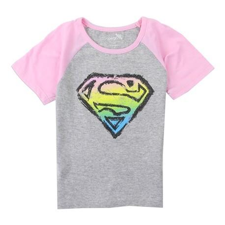 DC Comics Supergirl Shield Short Sleeve Shirt Houston Kids Fashion Clothing Store