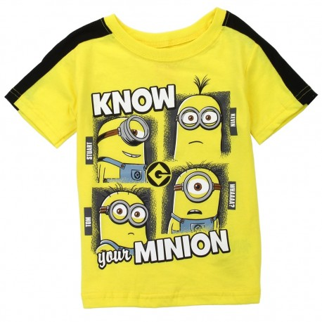 Despicable Me Minions Know Your Minions Toddler Shirt Houston Kids Fashion Clothing Store