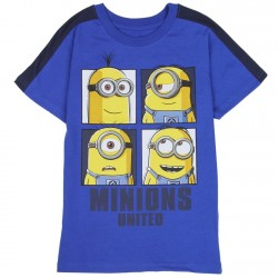 Universal Despicable Me Minions United Toddler Boys Shirt Houston Kids Fashion Clothing