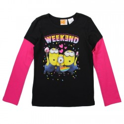 Despicable Me Minions Weekend Celebration Girls Shirt Houston Kids Fashion Clothing Store