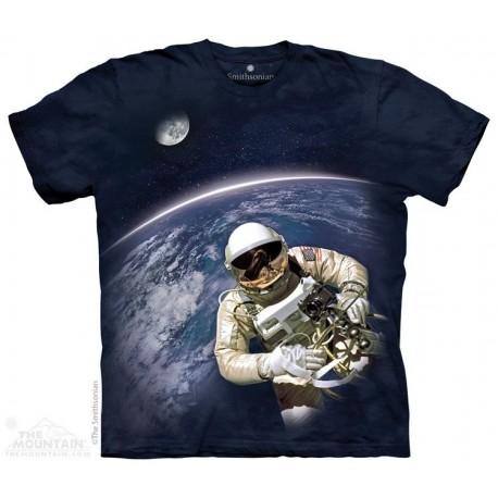 The Mountain Artwear Smithsonian First Space Walk Kids Shirt Houston Kids Fashion Clothing