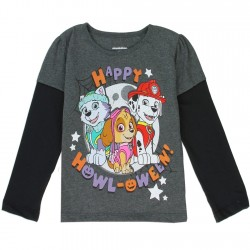 Nick Jr Paw Patrol Everest Marshall And Skye Holloween Toddler Girls Shirt
