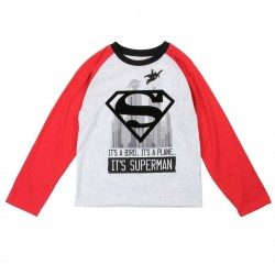 DC Comics Superman It's A Bird It's A Plane Long Sleeve Toddler Shirt