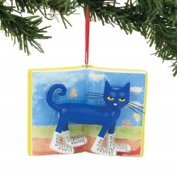 Department 56 Pete The Cat Christmas White Shoes Ornament