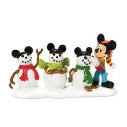 Disney Mickey Mouse And The Three Mouseketeers Figurine