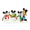 Dept 56 Disney Mickey Mouse And The Three Mouseketeers Figurine Houston Kids Fashion Clothing Store
