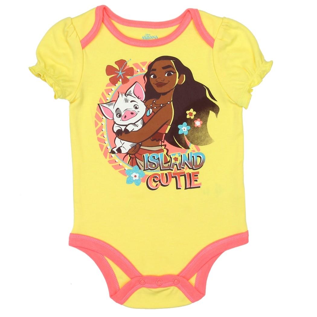 Disney Moana Island Cutie Baby Onesie | Disney Moana Baby ...