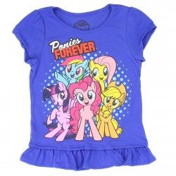Hasbro My Little Pony Ponies Forever Girls Shirt Houston Kids Fashion Clothing Store