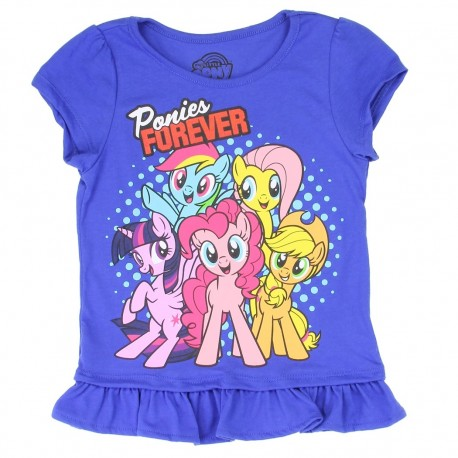 Hasbro My Little Pony Ponies Forever Girls Shirt Houston Kids Fashion Clothing Store