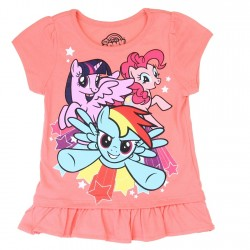 Hasbro MLP My Little Pony Coral Toddler Girls Shirt Houston Kids Fashion Clothing Store