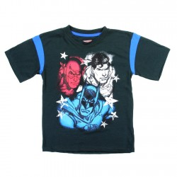 DC Comics Justice League Short Sleeve Boys Shirt