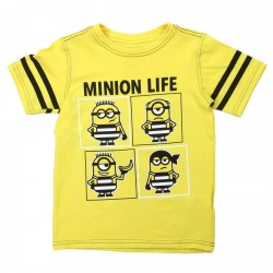 Universal Despicable Me Minion Life Boys Shirt Houston Kids Fashion Clothng Store