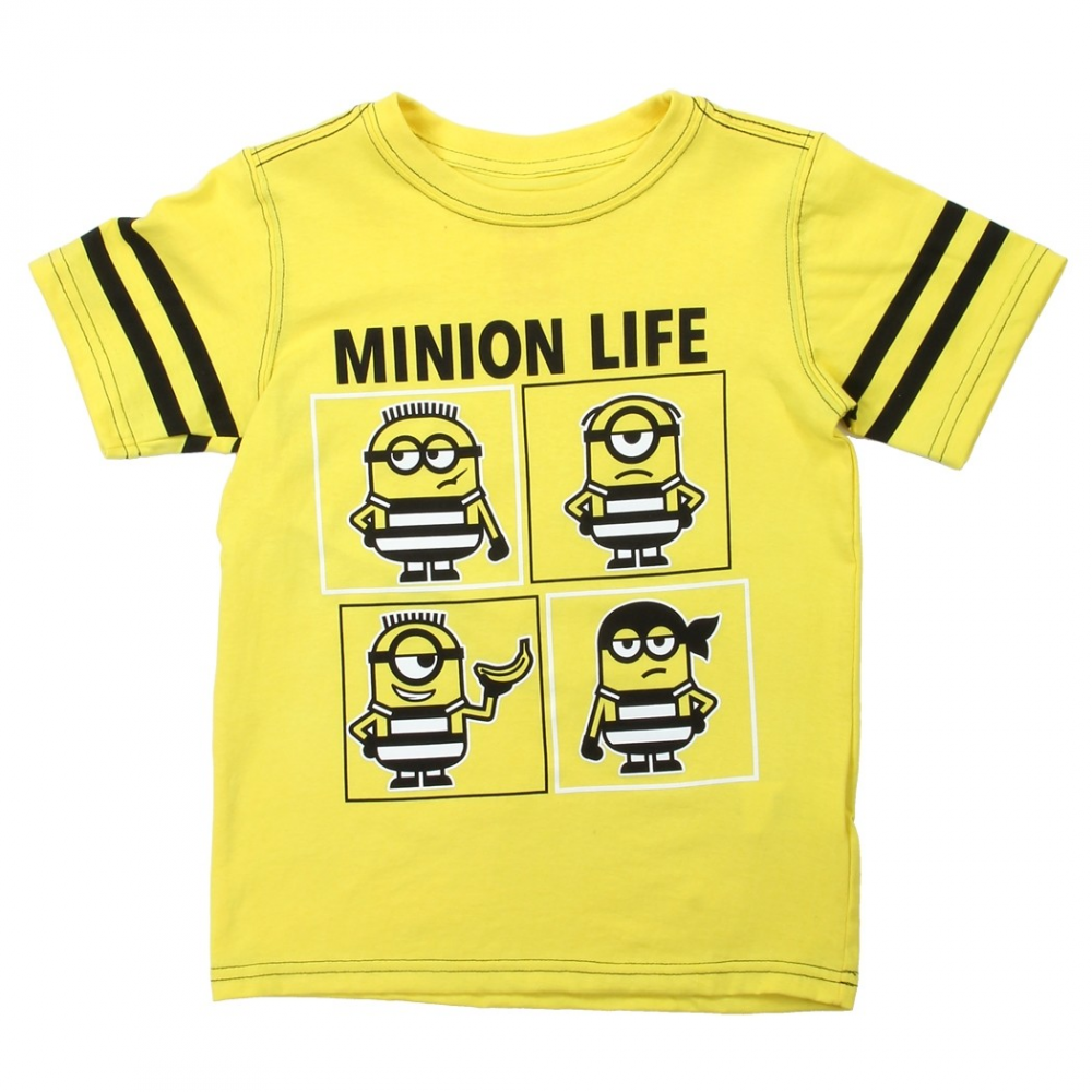 Despicable Me Minion Life Boys Shirt Houston Kids Fashion Clothing