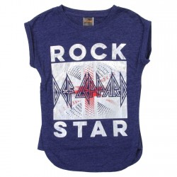Classic Rock Back Def Leppard Rock Star Girls Shirt Houston Kids Fashion Clothing Store
