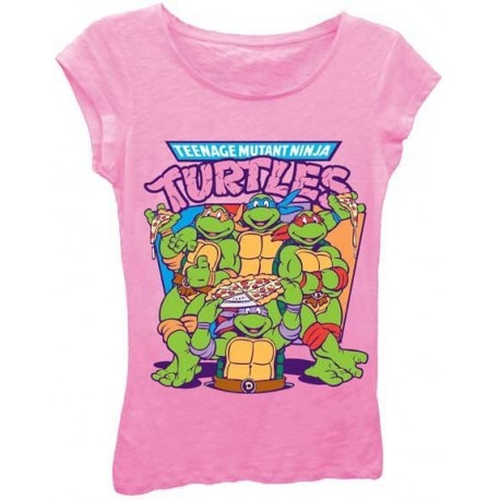 Teenage Mutant Ninja Turtles Pizza Time Tee Shirt
