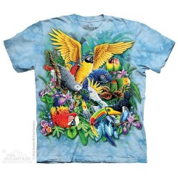 The Mountain Birds of the Tropics Youth Shirt