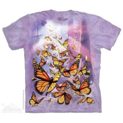 The Mountain Monarch Butterflies Youth Shirt