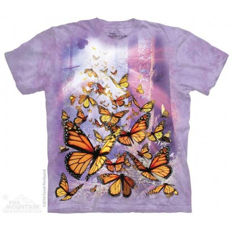 The Mountain Monarch Butterflies Youth Shirt Houston Kids Fashion Clothing Store