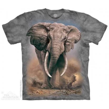 The Mountain Artwear African Elephant Boys Shirt Houston Kids Fashion Clothing Store