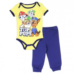 Nick Jr Paw Patrol Top Pups Onesie And Pants Set