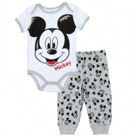 Disney Mickey Mouse Onesie And Pants Set Houston Kids Fashion Clothing Store