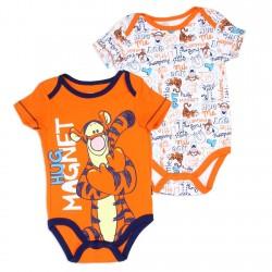 Disney Winnie The Pooh Tigger Hug Magnet 2 Pack Onesie Set