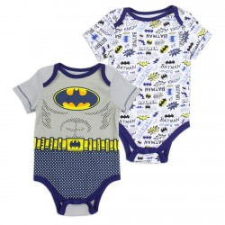 DC Comics Batman 2 Pack Onesie Set Houston Kids Fashion Clothing Store