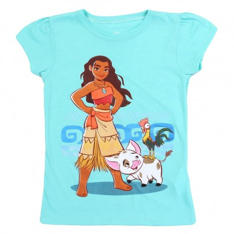 Disney Moana Blue Girls Shirt Houston Kids Fashion Clothing Store