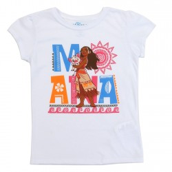 Disney Moana And Pua Girls Shirt