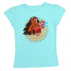 Disney Moana Blue Girls Shirt