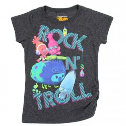 Dreamworks Trolls Rock-N-Troll Girls Shirt Houston Kids Fashion Clothing Store