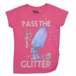 Dreamworks Trolls Pass The Glitter Girls Shirt Houston Kids Fashion Clothing Store