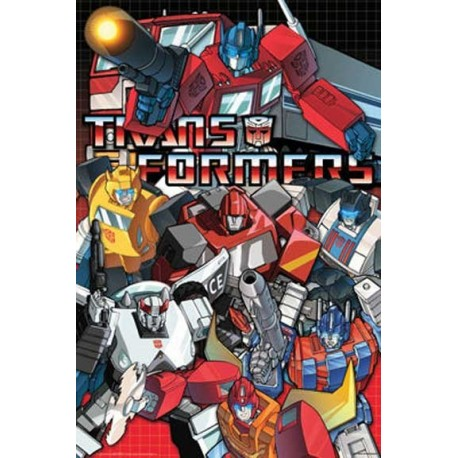 Transformers Autobot Wall Poster Houston Kids Fashion Clothing Store